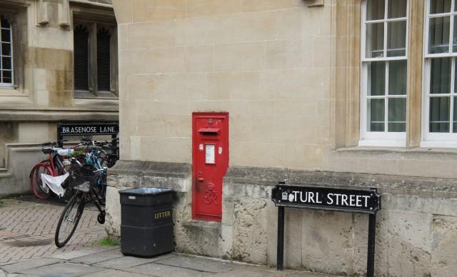 Brasenose Lane & Turl Street