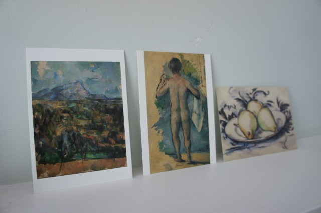 Cezanne postcards