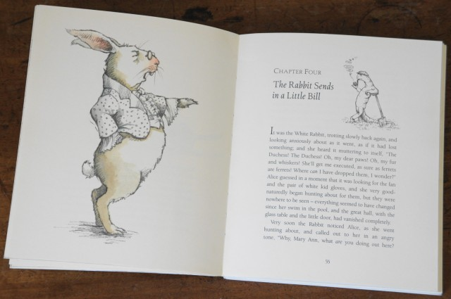 Alice's Adventures in Wonderland by Lewis Carroll, illustrated by Helen Oxenbury