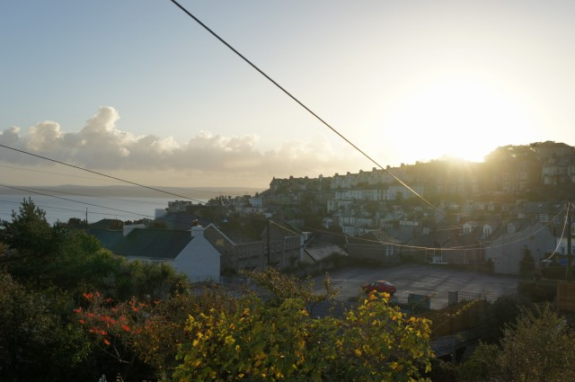 Sunrise from Morwennol Cottage