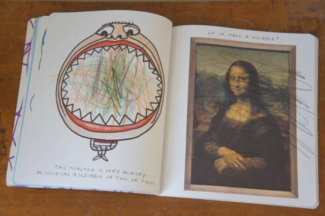 The Scribble Book by Hervé Tullet